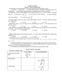Câu hỏi và bài tập Chủ đề 1: Thuyết tương đối hẹp