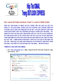 hộp thư GMAIL trong OutLook Express