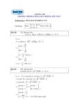 Ôn thi môn toán - Phương trình lượng giác không mẫu mực