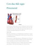 Cơn đau thắt ngực Prinzmetal
