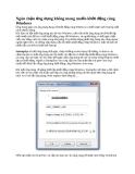 Ngăn chặn ứng dụng không mong muốn khởi động cùng Windows