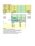 Bài tập Microsoft office Excel nâng cao - Bài số 6