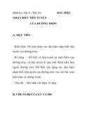 Hình hoc lớp 9 - Tiết 26: NHẬN BIẾT TIẾP TUYẾN CỦA ĐƯỜNG TRÒN