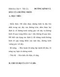 Hình hoc lớp 9 - Tiết 22: DÂY CỦA ĐƯỜNG TRÒN