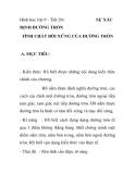Hình học lớp 9 - Tiết 20: ĐỊNH ĐƯỜNG TRÒN  SỰ XÁC  TÍNH CHẤT ĐỖI XỨNG