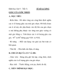 Hình học lớp 9 - Tiết 5:  TỈ SỐ LƯỢNGGIÁC CỦA GÓC NHỌN
