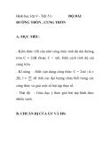Hình học lớp 9 - Tiết 51: ĐỘ DÀI ĐƯỜNG TRÒN , CUNG TRÒN