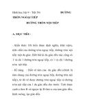 Hình học lớp 9 - Tiết 50:  ĐƯỜNG TRÒN NGOẠI TIẾP ĐƯỜNG TRÒN NỘI TIẾP