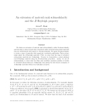 """Báo cáo toán học: """"An extension of matroid rank submodularity and the Z-Rayleigh property"""""""
