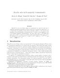 "Báo cáo toán học: ""Acyclic sets in k-majority tournaments"""