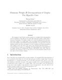"Báo cáo toán học: ""Minimum Weight H-Decompositions of Graphs: The Bipartite Cas"""