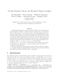 """Báo cáo toán học: """"On-line Ramsey Theory for Bounded Degree Graphs"""""""