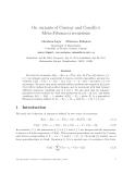 "Báo cáo toán học: ""On variants of Conway and Conolly's Meta-Fibonacci recursions"""