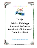 Tích hợp Rational Software Architect với Rational Data Architect