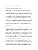 Mô hình hóa SOA: Phần 3