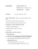 SỔ GIÁO ÁN THỰC HÀNH TRỒNG TRỌT CHĂN NUÔI -  GIÁO ÁN SỐ 5