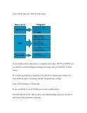 Cách viết bài luận văn - How to write essays