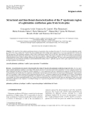 """Báo cáo khoa học: """"Structural and functional characterization of the 5' upstream region of a glutamine synthetase gene from Scots pine"""""""
