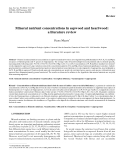 """Báo cáo khoa học: """"Mineral nutrient concentrations in sapwood and heartwood: a literature review"""""""