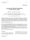 "Báo cáo toán học: ""Anatomy and chemical composition of Pinus pinea L. bark"""