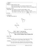 Giáo án âm nhạc 7 - trường THCS Lý Tự Trọng part 6