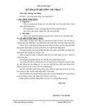 Giáo án âm nhạc 7 - trường THCS Nguyễn Du part 1