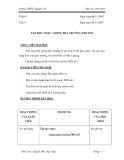 Giáo án âm nhạc 9 - trường THCS Nguyễn Du part 1
