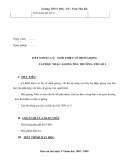 Giáo án âm nhạc 9 - trường THCS Phú part 6