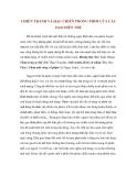 CHIẾN TRANH VÀ HẬU CHIẾN TRONG PHIM CỦA CÁC ĐẠO DIỄN TRẺ
