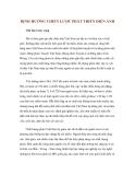 ĐỊNH HƯỚNG CHIẾN LƯỢC PHÁT TRIỂN ĐIỆN ẢNHChê bai và hy vọng Đã có thời