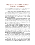MỘT SỐ VẤN ĐỀ VỀ PHIM HÀI ĐIỆN ẢNH VIỆT NAM
