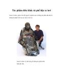 Tác phẩm điêu khắc từ phế liệu xe hơi