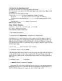Cách làm bài chia dạng đúng của từ tiếng Anh