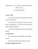 Hình học lớp 9 - §5. CÁC DẤU HIỆU NHẬN BIẾT TIẾP TUYẾN CỦA ĐƯỜNG TRÒN