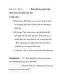 Đại số 9 - Tiết 9  Biến đổi đơn giản biểu  thức chứa căn thức bậc hai