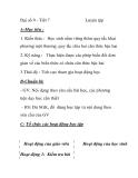 Đại số 9 - Tiết 7 Luyện tập