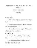 Hình học lớp 9 - §4. MỘT SỐ HỆ THỨC VỀ CẠNH VÀ GÓC TRONG TAM GIÁC ( tiếp theo)