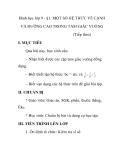 Hình học lớp 9 - §1. MỘT SỐ HỆ THỨC VỀ CẠNH VÀ ĐƯỜNG CAO TRONG TAM GIÁC VUÔNG (Tiếp theo)