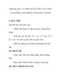Hình học lớp 9 - §1 MỘT SỐ HỆ THỨC VỀ CẠNH VÀ ĐƯỜNG CAO TRONG TAM GIÁC VUÔNG