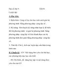 Đại số lớp 9 -  Luyện tập