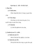 Vật lí lớp 12 - Tiết 15: BÀI TẬP