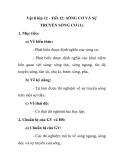 Vật lí lớp 12 - Tiết 12: SÓNG CƠ VÀ SỰ TRUYỀN SÓNG CƠ (1).