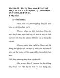 Vật lí lớp 12 - Tiết 10: Thực hành: KHẢO SÁT THỰC NGHIỆM CÁC ĐỊNH LUẬT DAO ĐỘNG CỦA CON LẮC ĐƠN (1)
