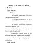 Vật lí lớp 12 - Tiết 03: CON LẮC LÒ XO