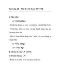 Vật lí lớp 12 - Tiết: 0 CẤU TẠO VŨ TRỤ