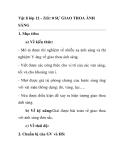 Vật lí lớp 12 - Tiết: 0 SỰ GIAO THOA ÁNH SÁNG