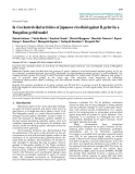 """Báo cáo y học: """"In vivo bactericidal activities of Japanese rice-fluid against H. pylori in a Mongolian gerbil model"""""""