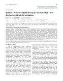 "Báo cáo y học: ""Qualitative Dosimetric and Radiobiological Evaluation of High – Dose – Rate Interstitial brachytherapy Implant"""