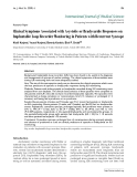 """Báo cáo y học: """"Clinical Symptoms Associated with Asystolic or Bradycardic Responses on Implantable Loop Recorder Monitoring in Patients with Recurrent Syncope"""""""