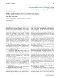 """Báo cáo y học: """"Ocular manifestations of Lyme borreliosis in Europe"""""""